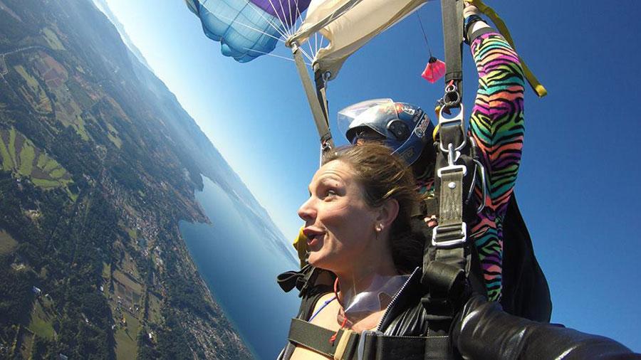 Skydive Vancouver Island Dropzone Image
