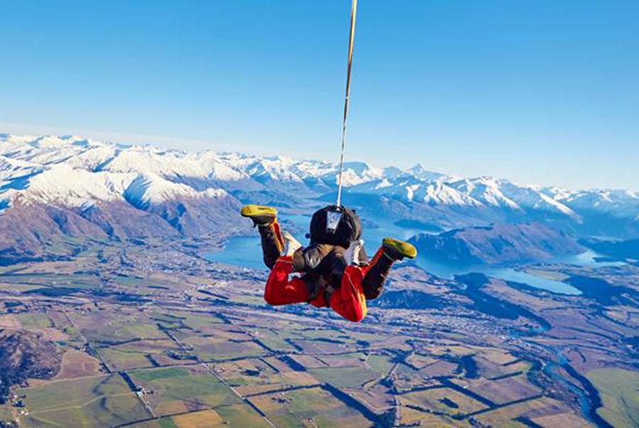 Skydive Wanaka Dropzone Image