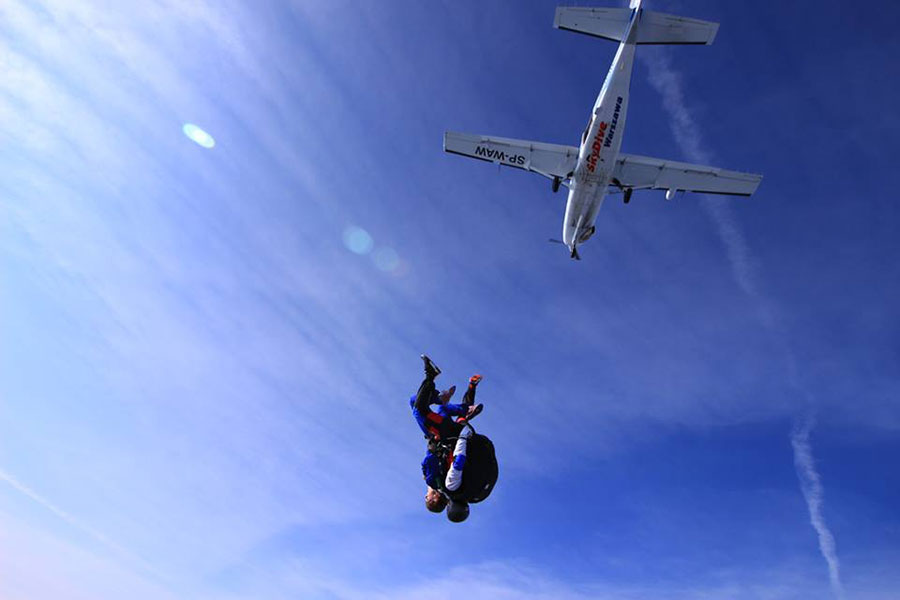 Skydive Warszawa Dropzone Image