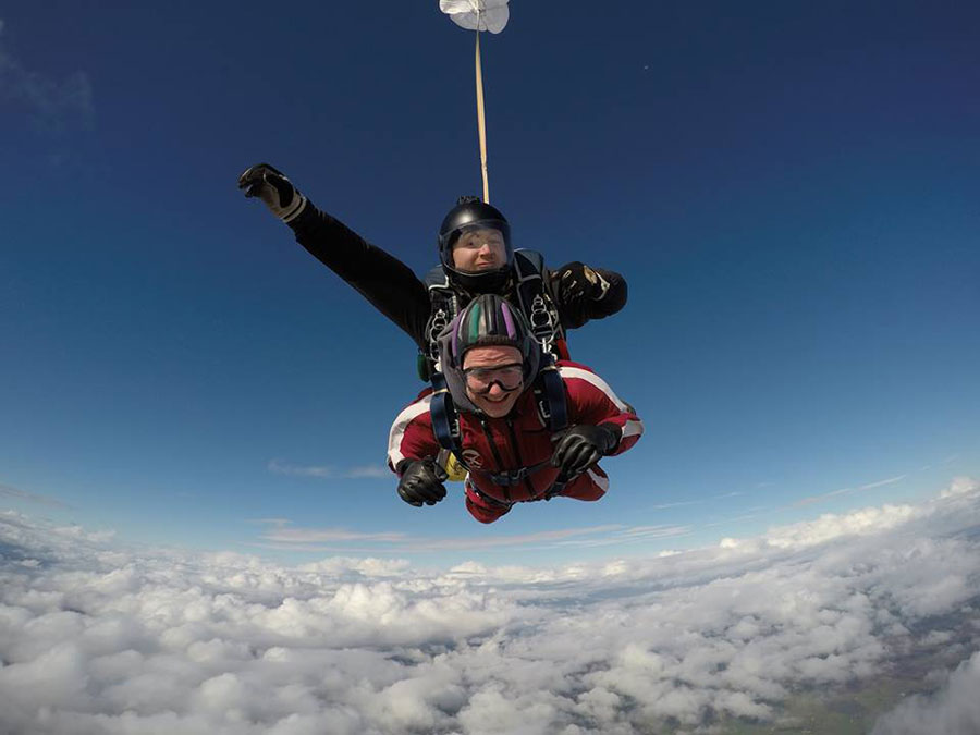Skydive Wild Geese Dropzone Image
