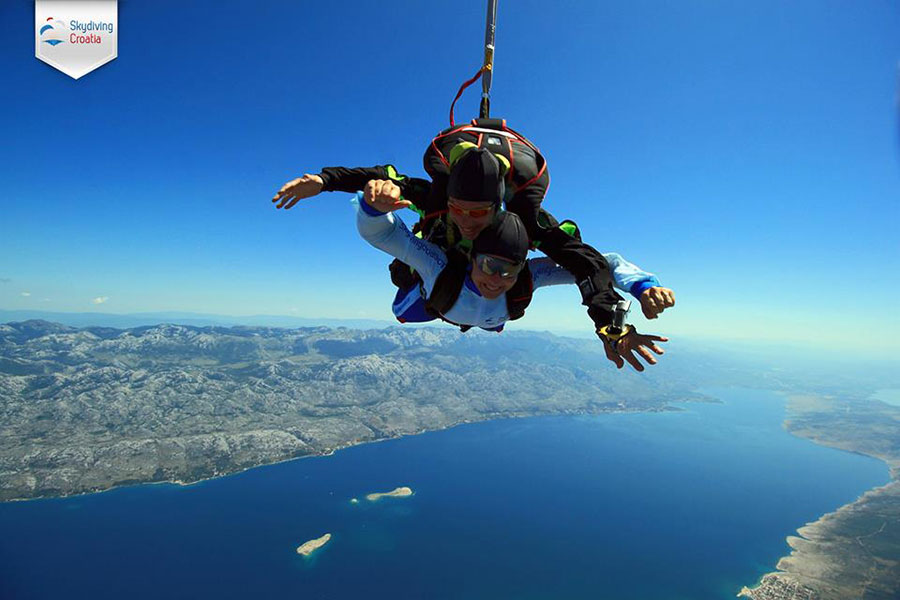 Skydiving Croatia Dropzone Image