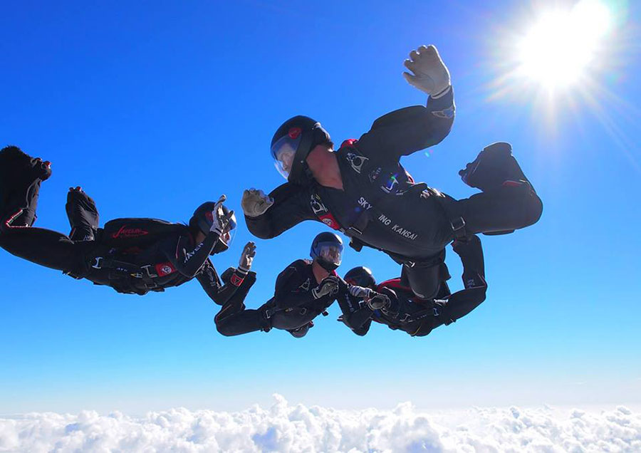 Skydiving Kansai Dropzone Image