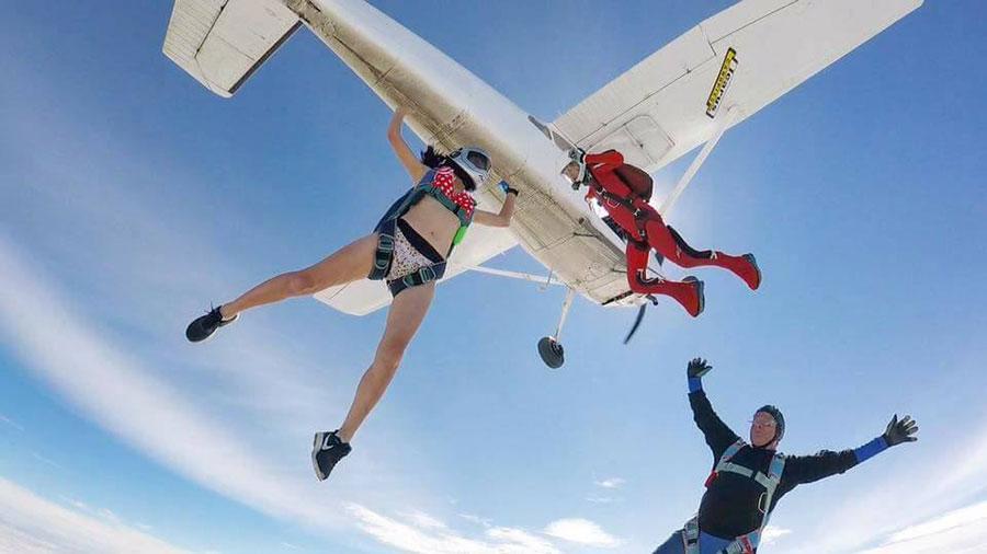 Skydiving Kiwis Dropzone Image