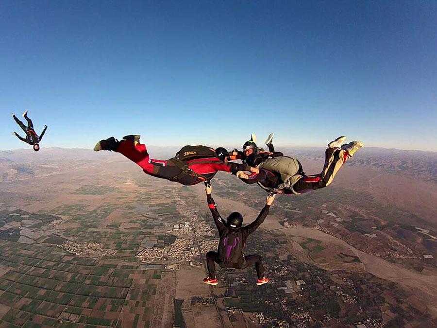 Skydive Taroudant Dropzone Image