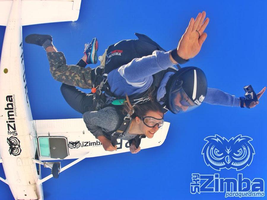 SkyZimba Paraquedismo Dropzone Image