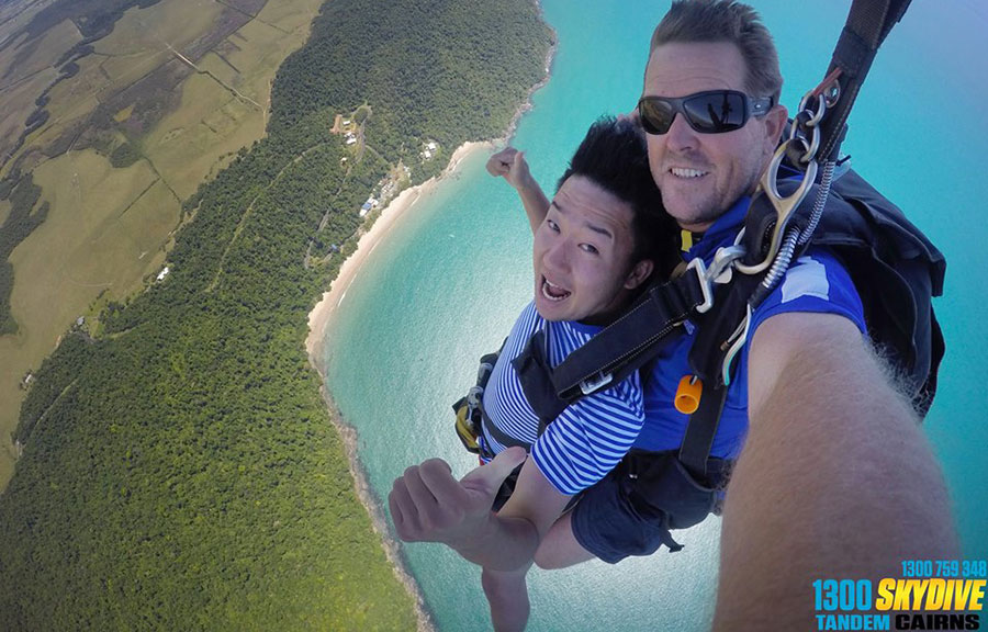 Tandem Cairns Dropzone Image