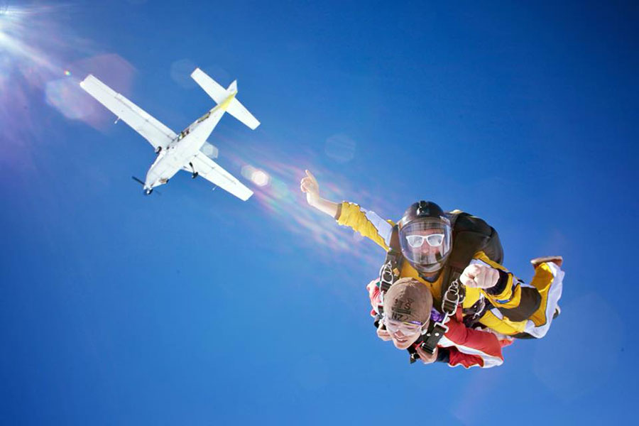 Taupo Tandem Skydiving Dropzone Image