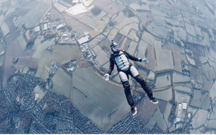 UK Parachuting Beccles Dropzone Image