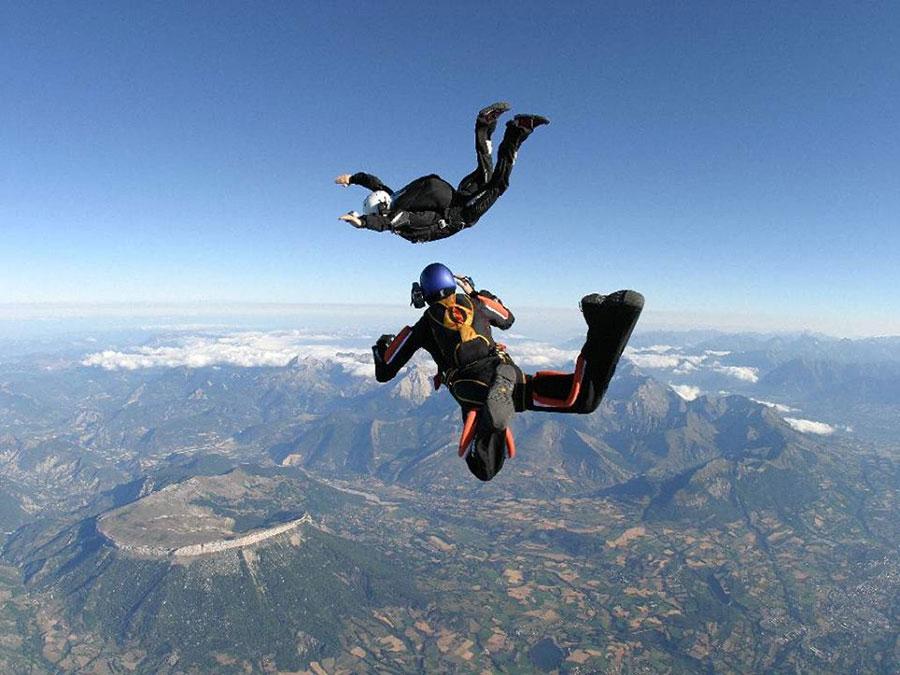 Véloce Parachutisme Dropzone Image