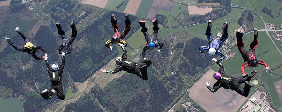 YUU Skydive Fallschirmsport Dropzone Image