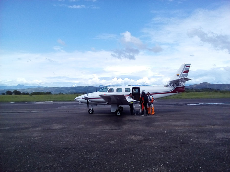 Aeroclub Bogota Dropzone Image